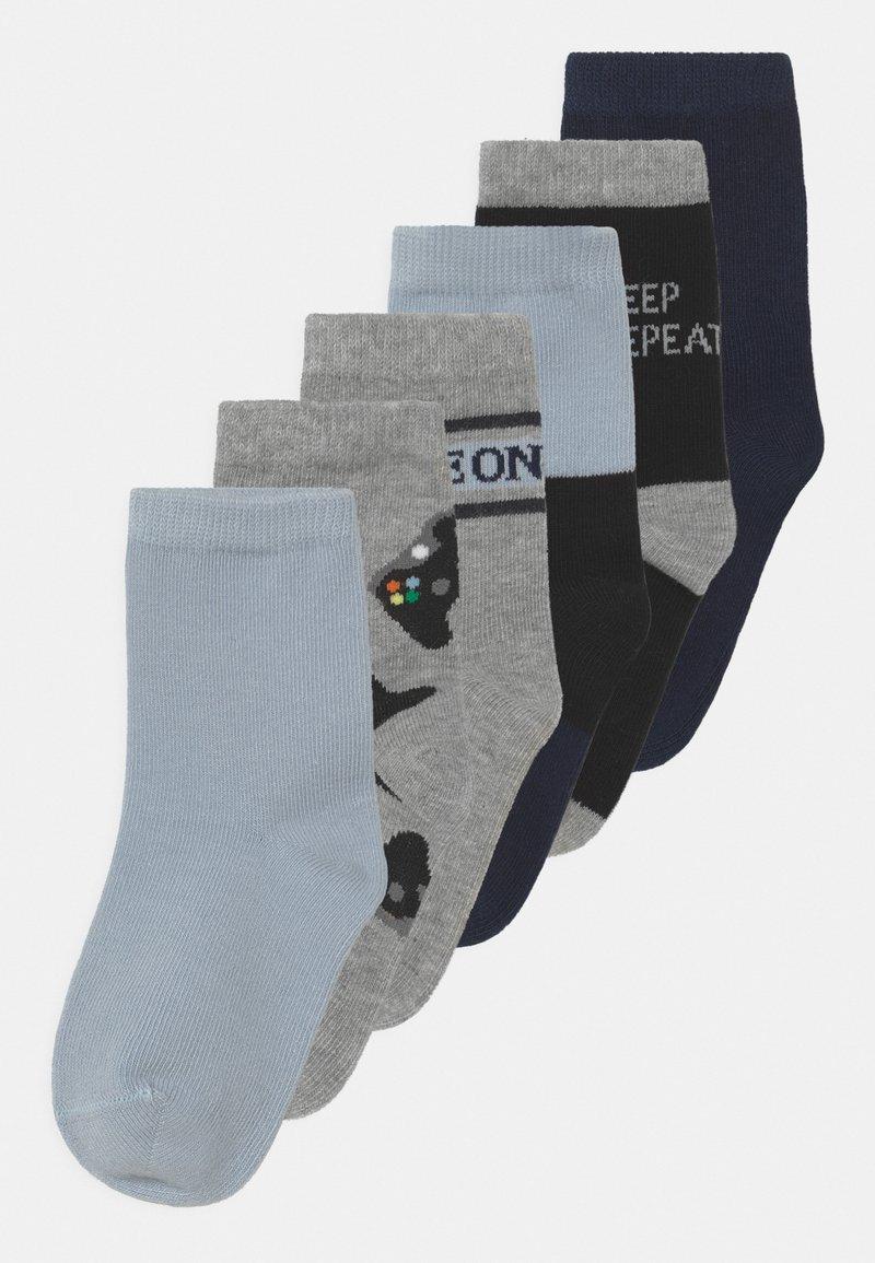 Name it - NKMBALDER 6 PACK - Socks - gray mist