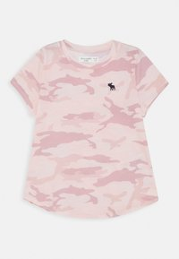 Abercrombie & Fitch - Print T-shirt - pink - 0