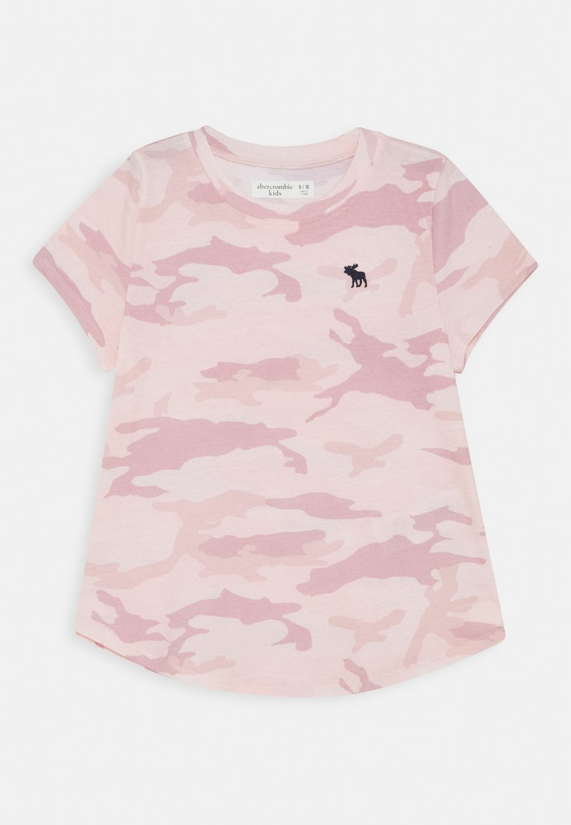 Abercrombie & Fitch - Triko spotiskem - pink