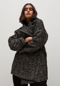 Violeta by Mango - MARIA - Short coat - schwarz - 3