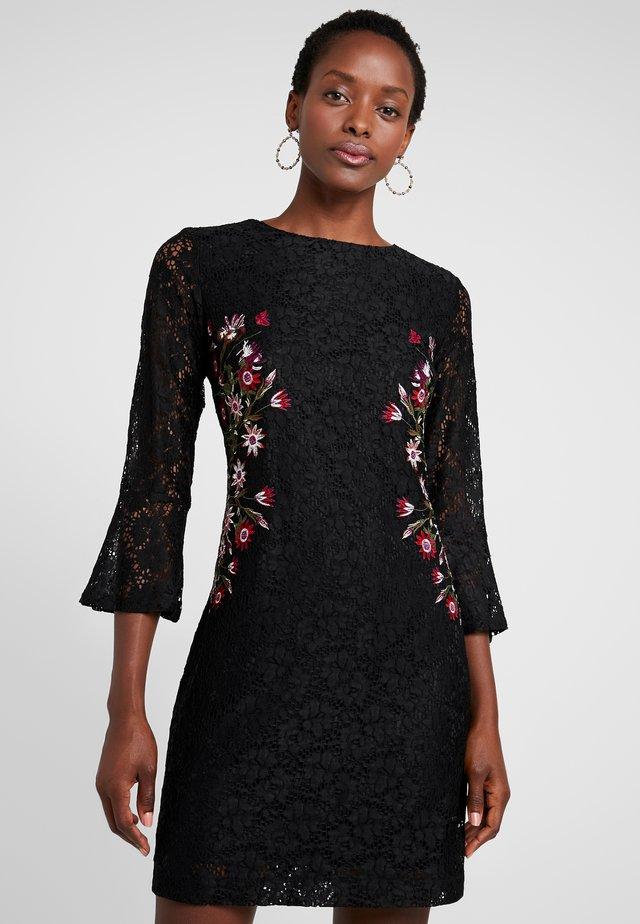 BERGEN - Denní šaty - black