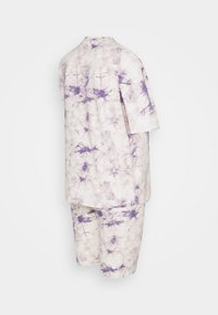 Missguided Maternity - TIE DYE TEE AND CYCLING SET - Tracksuit bottoms - lilac - 0