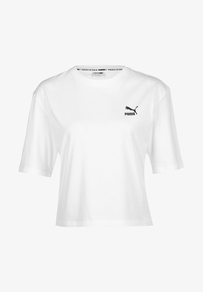 Puma - GRAPHIC W - Print T-shirt - white
