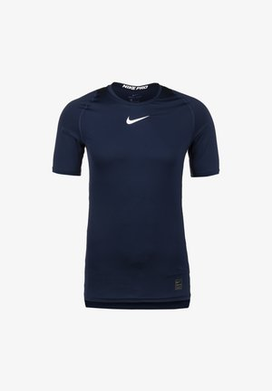 Sports shirt - obsidian / white / white