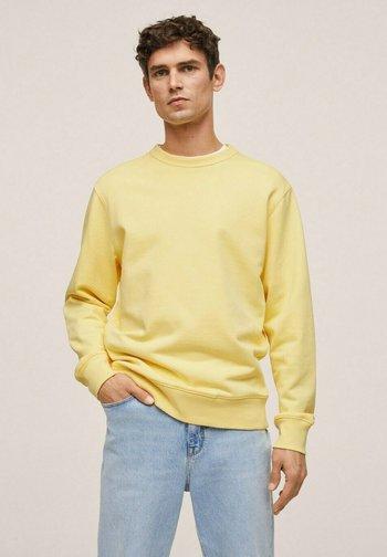 BASIC - Felpa - light yellow