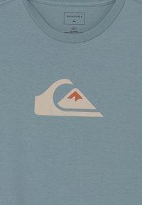Quiksilver - COMP LOGO  - Print T-shirt - citadel blue - 2