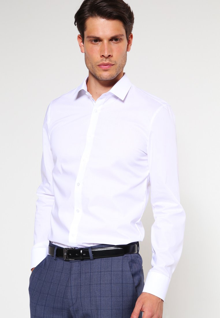OLYMP - OLYMP NO.6 SUPER SLIM FIT - Formal shirt - weiss