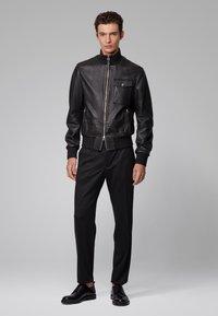 BOSS - MATEK - Leather jacket - black - 1