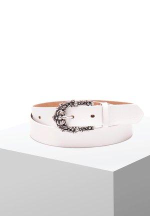 BECCA - Belt - white