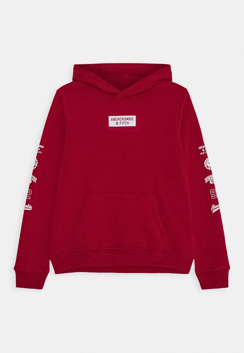 Abercrombie & Fitch - Hoodie - red