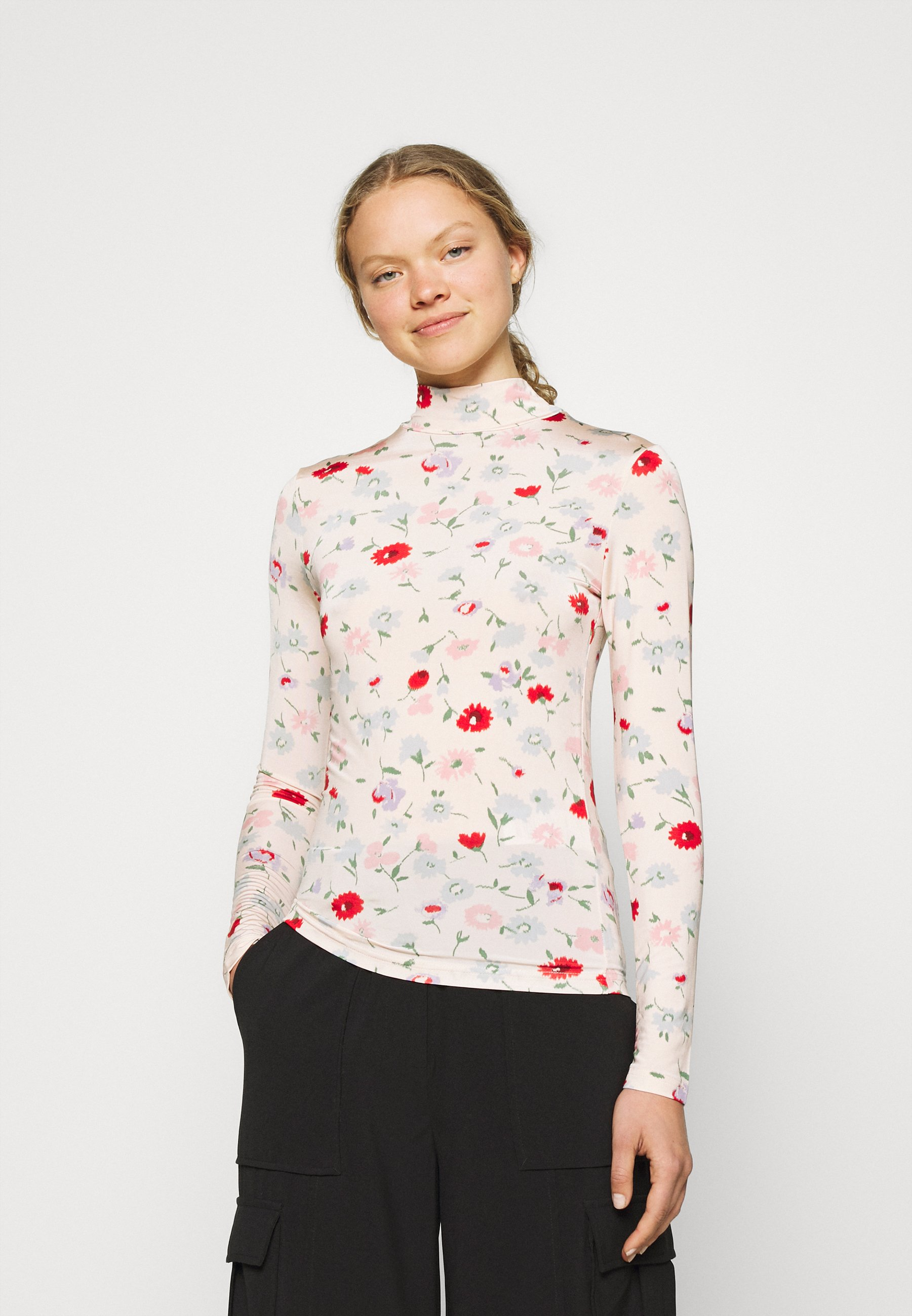 Women ELSI - Long sleeved top - pink