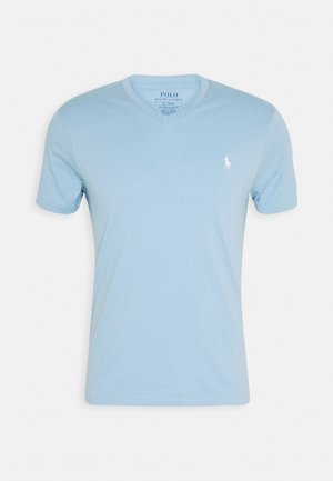 SHORT SLEEVE - Jednoduché triko - powder blue