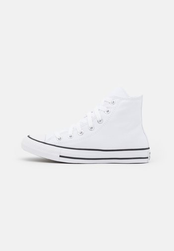CHUCK TAYLOR ALL STAR PATCH - Baskets montantes - white/spring green/black