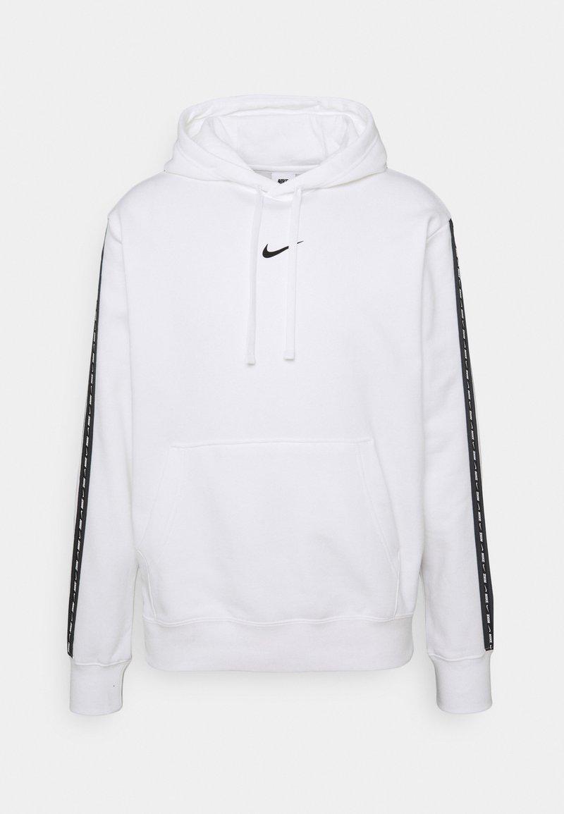 Nike Sportswear - REPEAT HOODIE - Sweatshirt - white/black