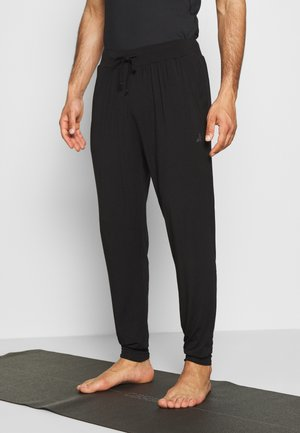 MENS LONG PANTS - Pantalones deportivos - black