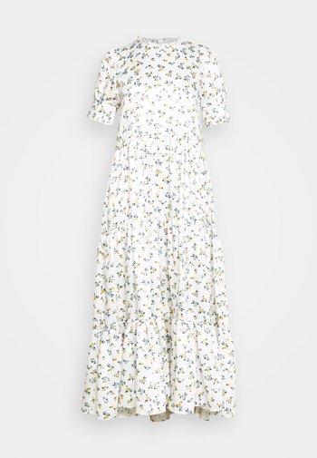 WILD FLOWER TIERED DRESS - Maxikjole - ivory