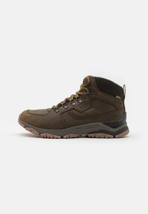 INNATE MID WP - Hikingsko - black olive/sunflower