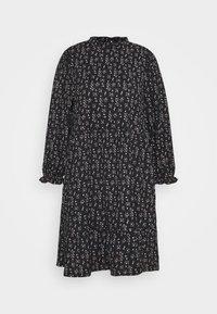 ONLZILLE NAYA HIGHNECK DRESS  - Day dress - black/lavender ditzy