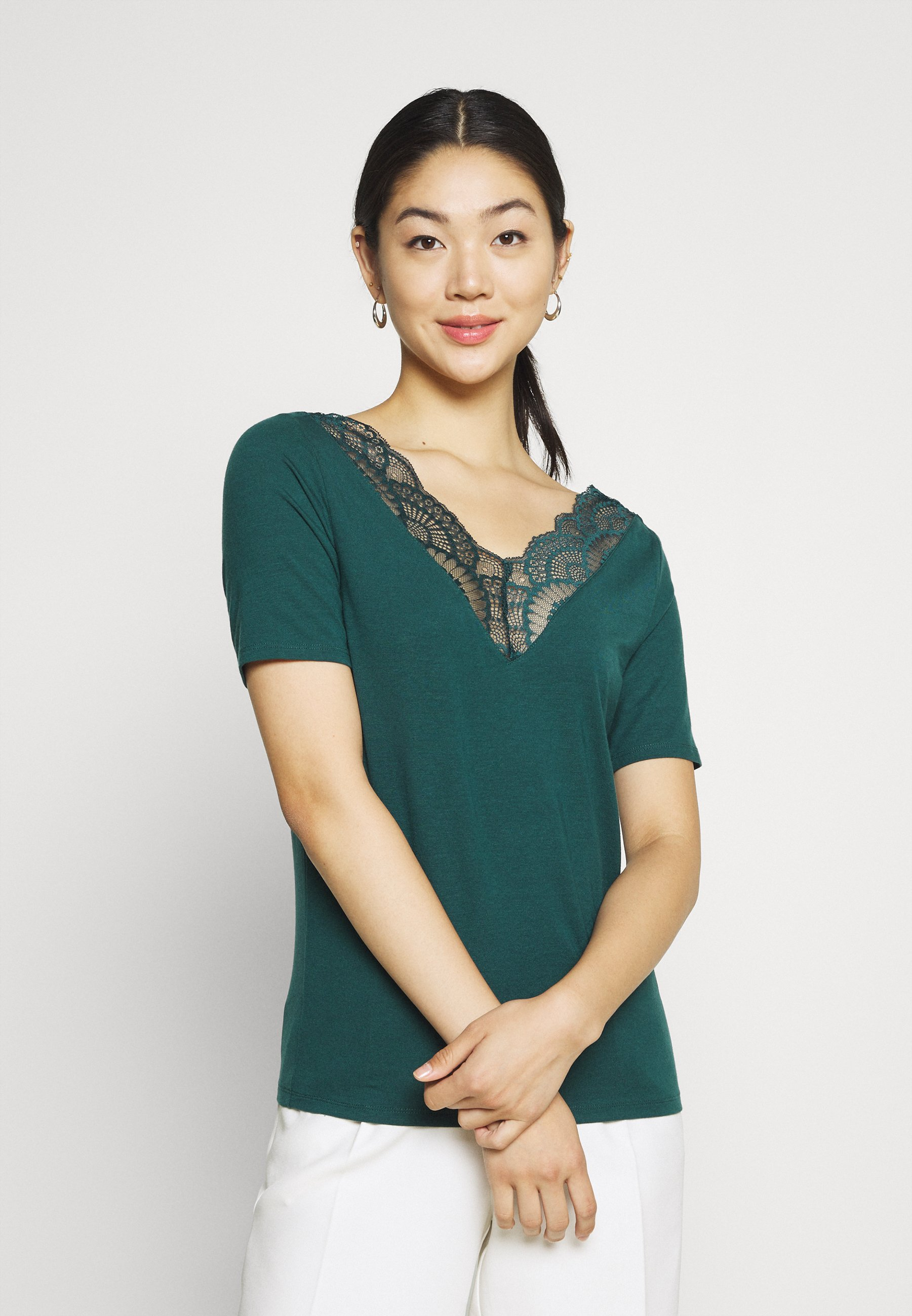 Damen VMAVA  V NECK - T-Shirt print