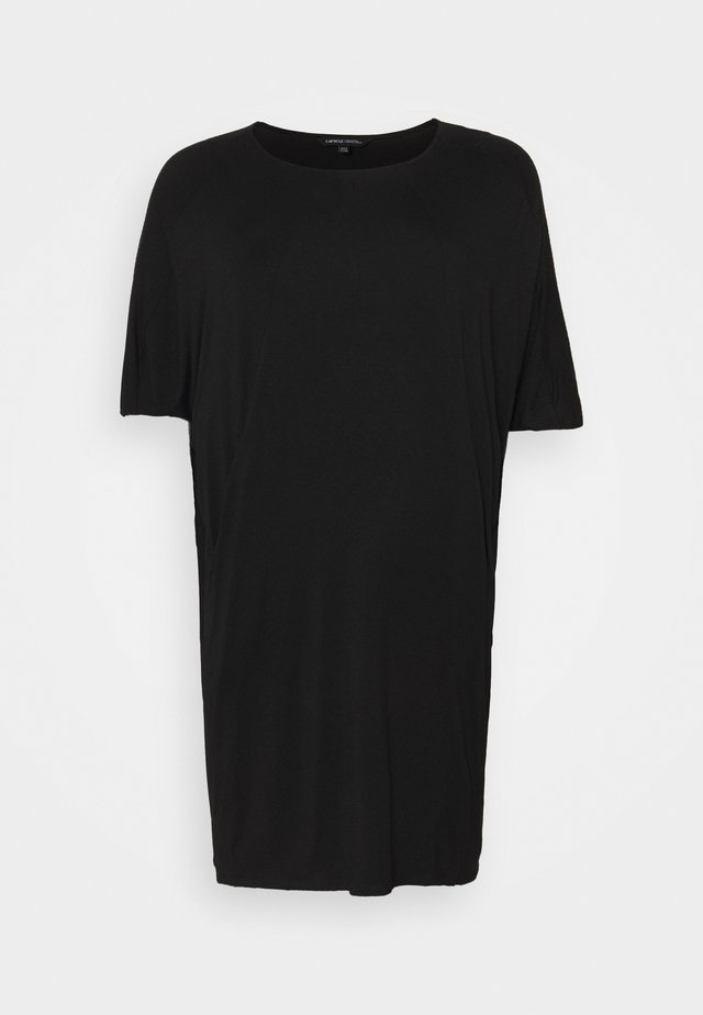 NICOLE POCKET COCOON DRESS - Robe d'été - black