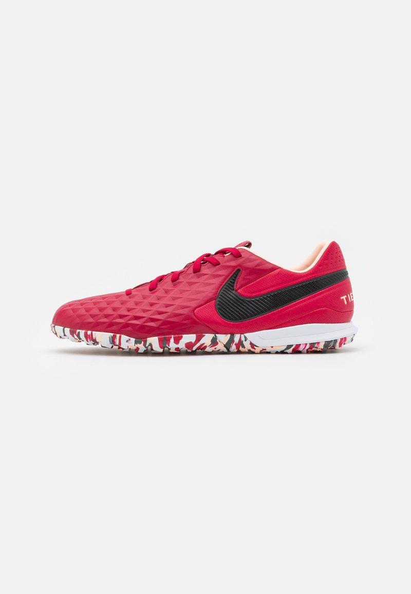 Nike Performance - TIEMPO LEGEND 8 PRO TF - Astro turf trainers - cardinal red/black/crimson tint/white