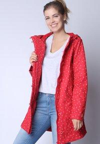 Strange - SARAH  - Short coat - red cherries - 4