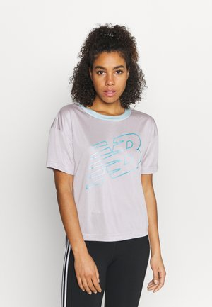 ACHIEVER GRAPHIC  - T-shirt imprimé - logwood