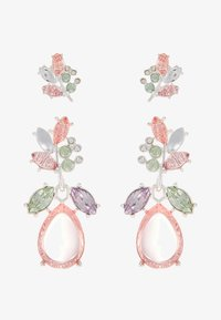 ONLY - ONLBASTA EARRING 2 PACK - Earrings - silver/rose/pool blue