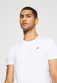 Hollister Co. - SEASONAL CREW 3 PACK  - T-shirt med print - blue - 5