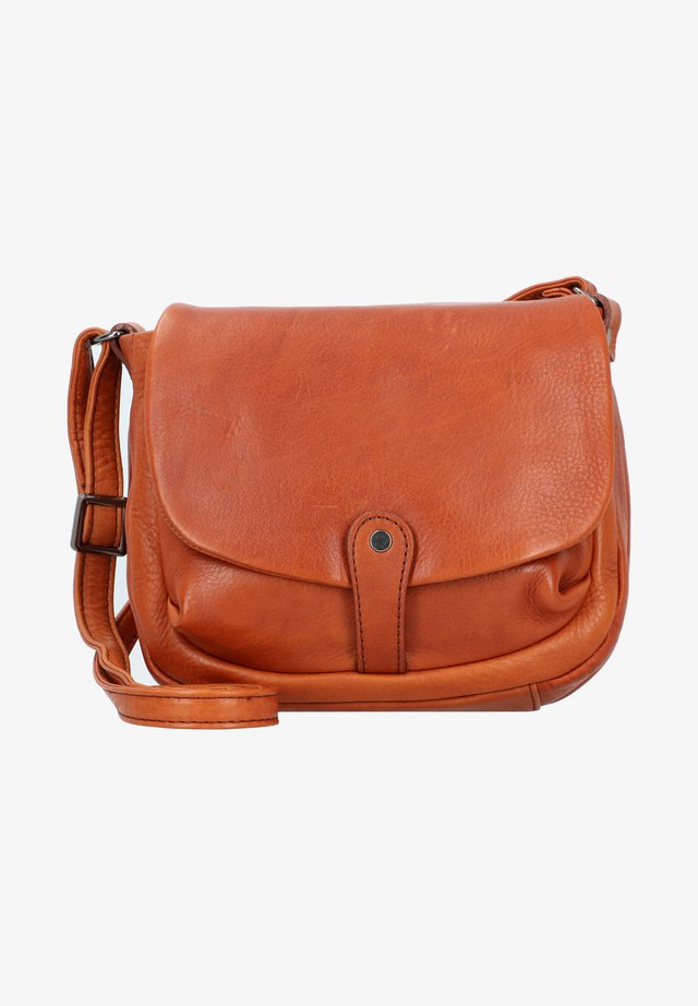 ALASSIO - Across body bag - cognac
