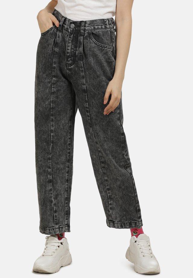 BOYFRIEND - Jeans baggy - schwarz