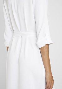 Cortefiel - TEXTURED STYLE DRESS - Shirt dress - white - 5