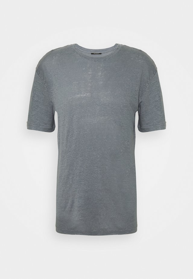 ONECK TEE - T-shirts - flint