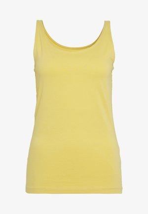 Topper - yellow