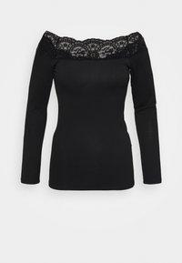 PCSIE - Long sleeved top - black