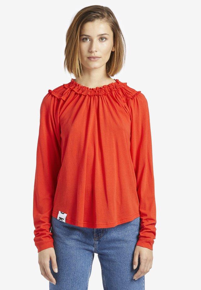 SRALA - T-shirt à manches longues - red