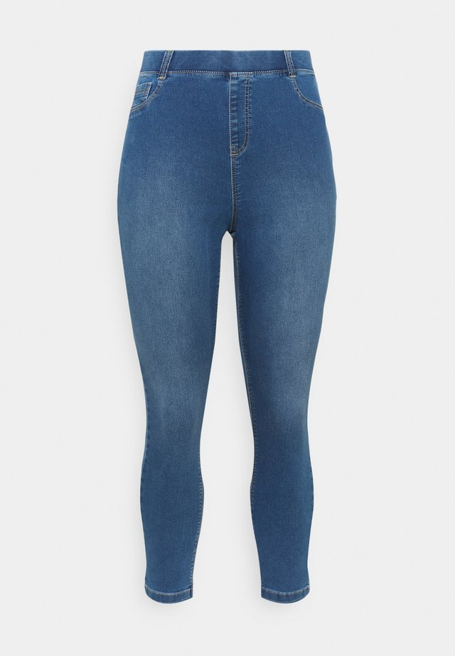 AMBER - Jeans Skinny Fit - mid blue