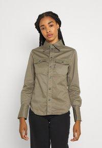 G-Star - KICK BACK - Button-down blouse - cavalry - 1