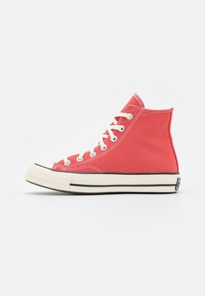 CHUCK 70 RECYCLED UNISEX - Höga sneakers - terracotta pink/egret