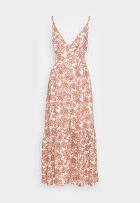 Abercrombie & Fitch - RESORT BUTTON DRESS - Maxi dress - pink - 3