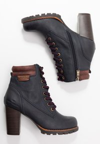 TOM TAILOR - Ankle boots - navy - 3