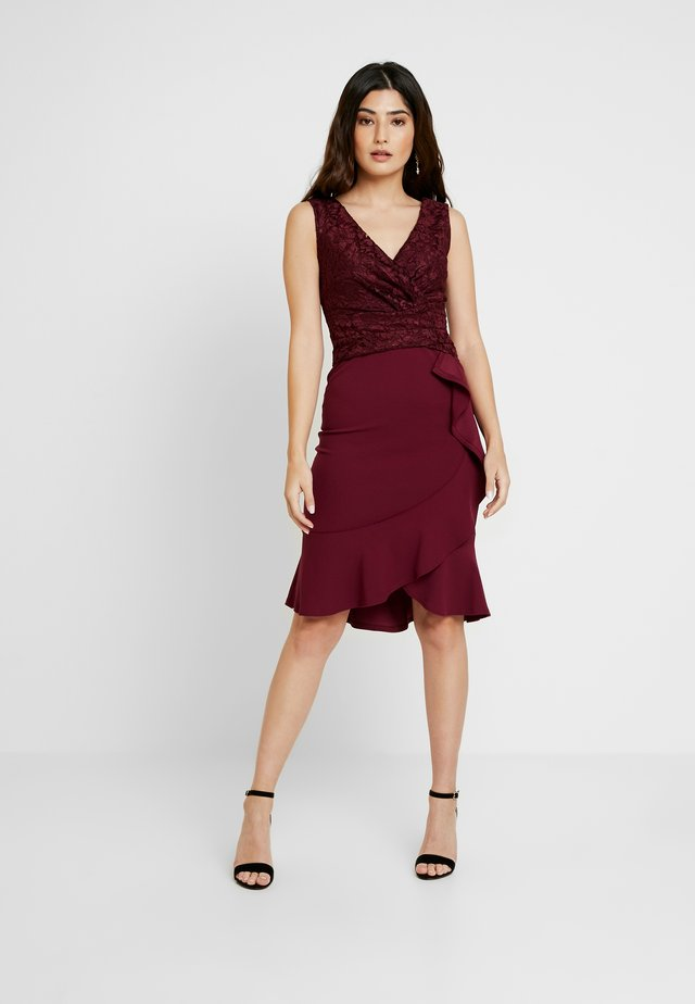 ARIANNE - Cocktail dress / Party dress - mulberry