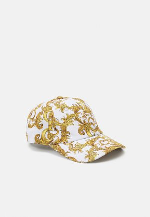 UNISEX - Cap - white/gold
