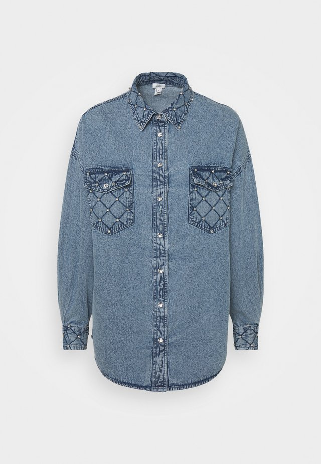 Camisa - denim blue