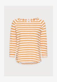 HEAVY JERSEY LONGSLEEVE - Long sleeved top - golden orange