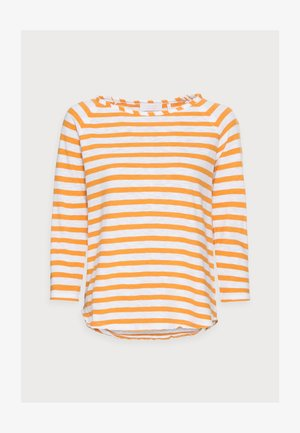 HEAVY JERSEY LONGSLEEVE - Long sleeved top - golden orange