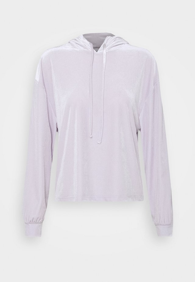 PCGIGI HOODIE - Bluza z kapturem - purple heather