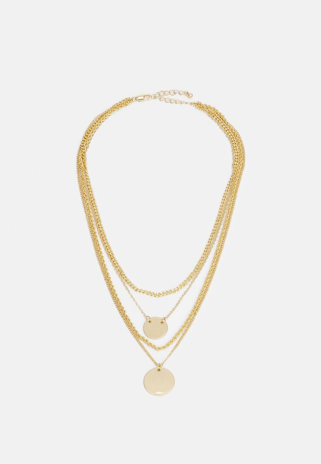 COMBI NECKLACE - Collier - gold-coloured