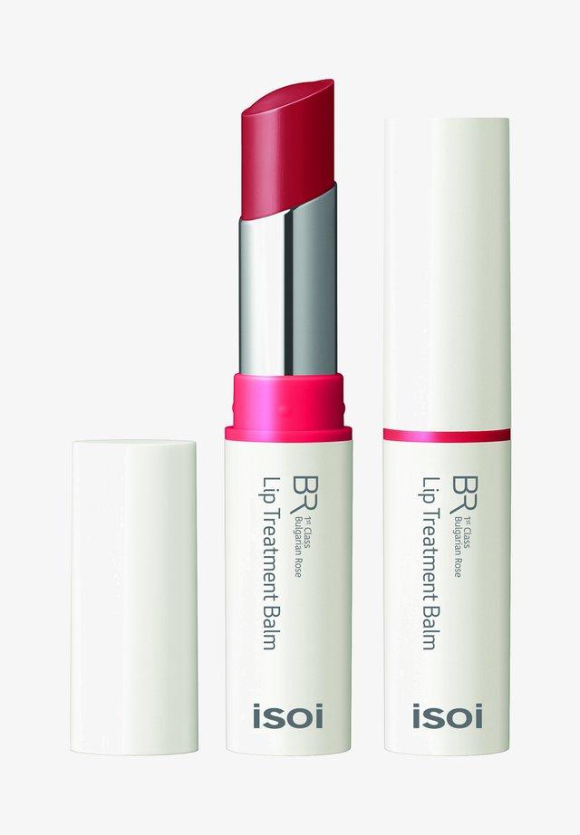 BULGARIAN ROSE LIP TREATMENT BALM (PURE RED) - Lip balm - -