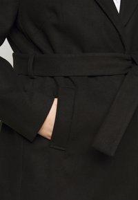New Look Curves - JORDAN BELTED COAT - Classic coat - black - 5